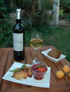vin blanc aigalade degustation