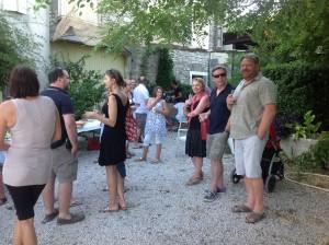 Dégustation gites Gard SOMMIERES la bastide des oliviers